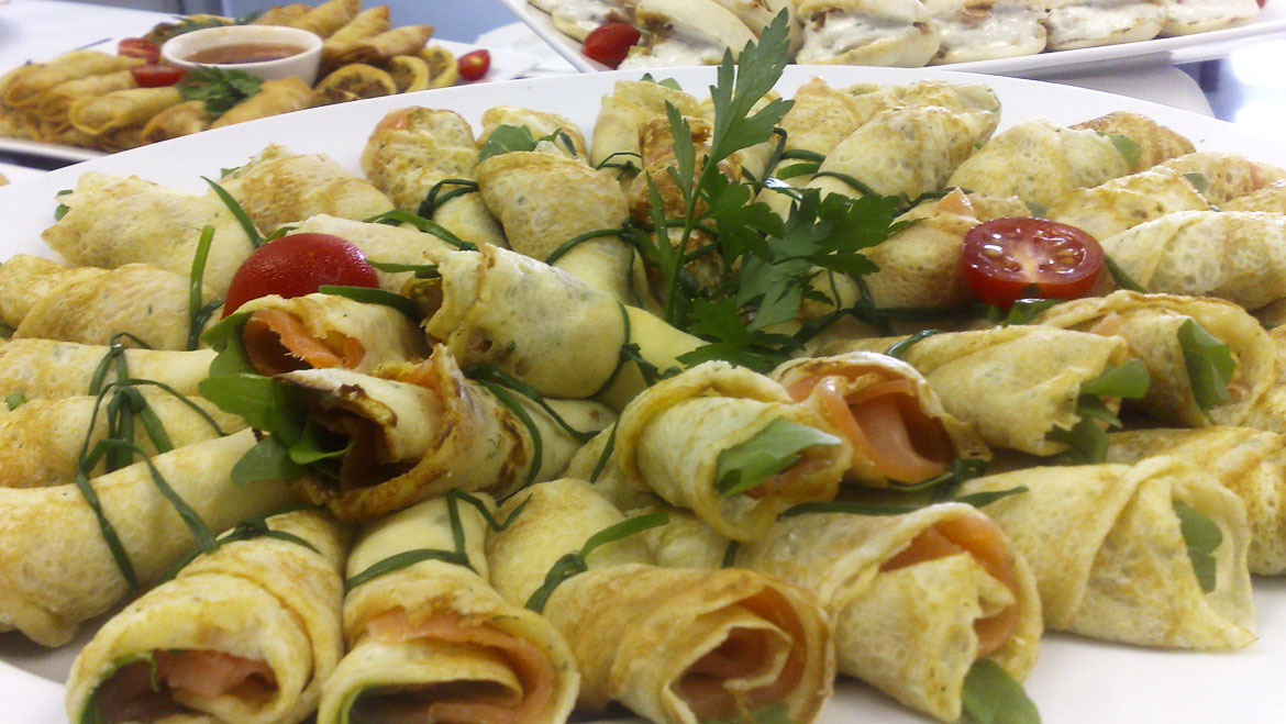 Newlands rugby suite catering ambrosia catering for Canape platters cape town